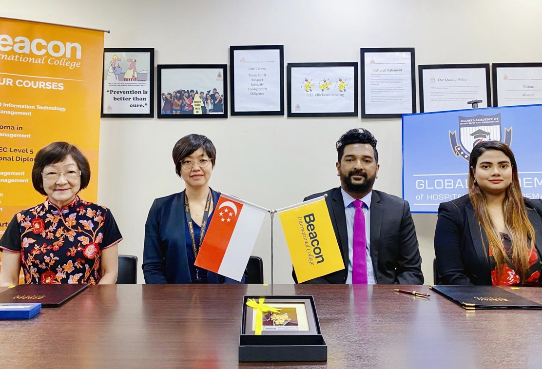 MOU Signing Ceremony with Beacon International College, Singapore